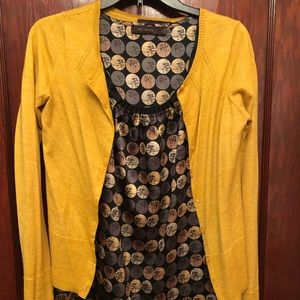 Patterned tank/sweater set (can sell as separates)